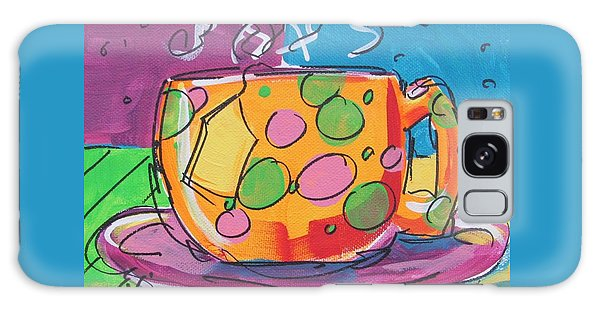 Zany Teacup Galaxy Case