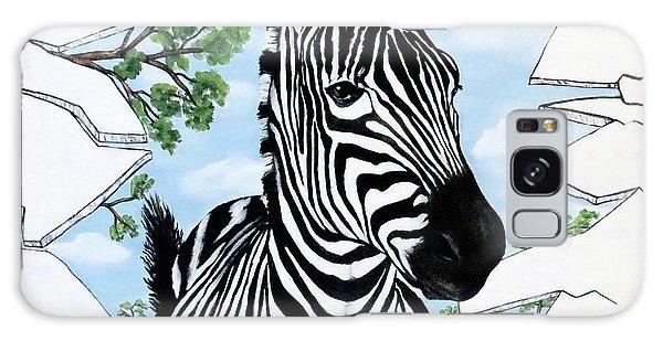 Zany Zebra Galaxy Case
