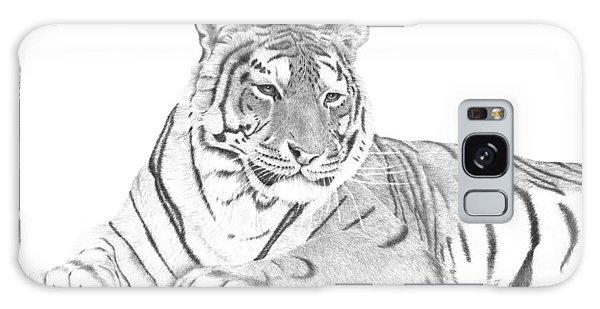 Zarina A Siberian Tiger Galaxy Case