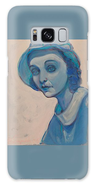 Zasu In Blue Galaxy Case