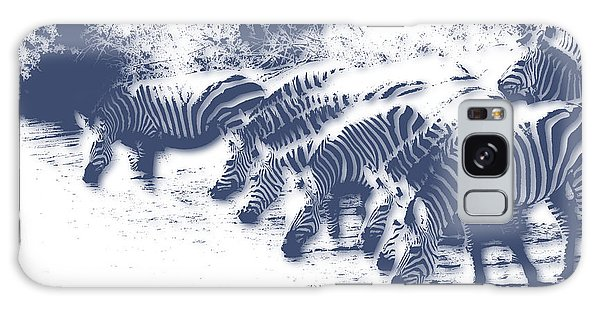Zebra Galaxy S8 Case - Zebra 3 by Joe Hamilton