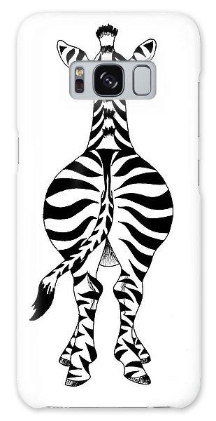 Zebra Galaxy Case by Annemeet Hasidi- van der Leij