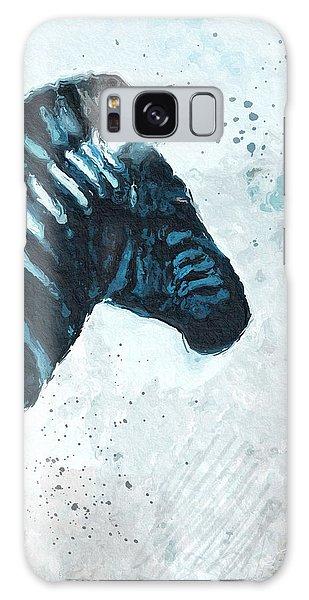 Zebra- Art By Linda Woods Galaxy Case