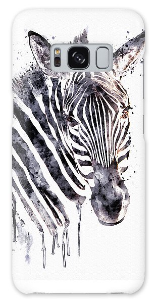 Zebra Galaxy S8 Case - Zebra Head by Marian Voicu