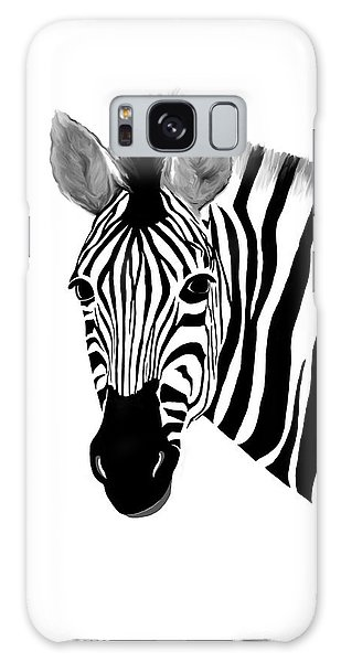 Zack A. Zebra Galaxy Case