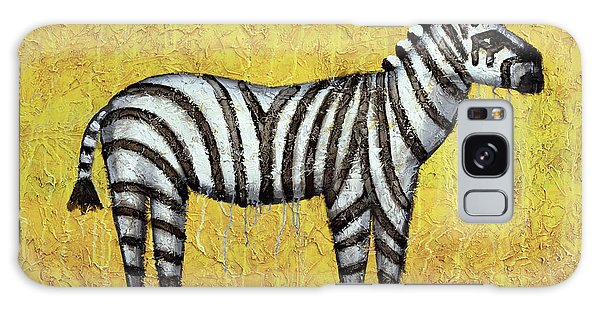Zebra Galaxy S8 Case - Zebra by Kelly Jade King