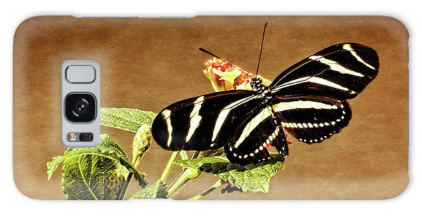 Zebra Longwing Galaxy Case