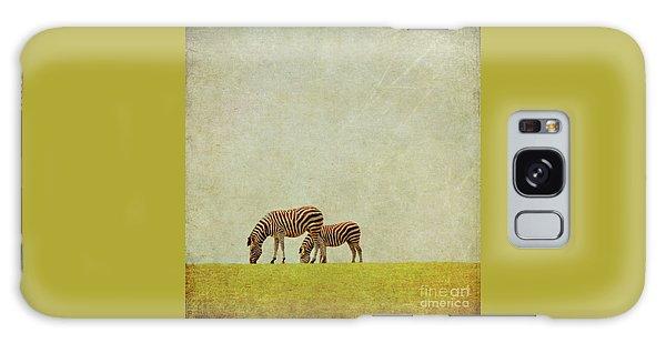 Zebra Galaxy Case by Lyn Randle