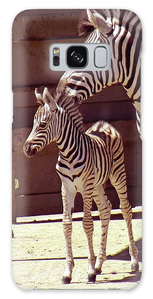 Zebra Mom And Baby Galaxy Case