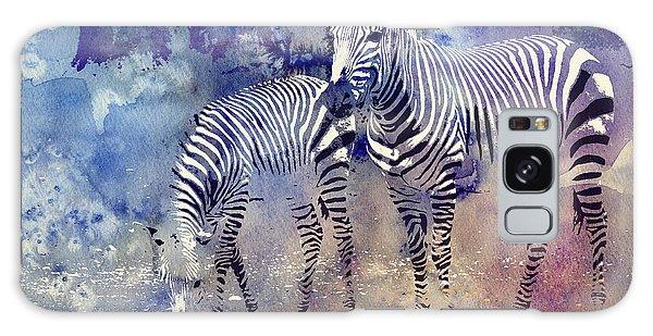 Zebra Paradise Galaxy Case