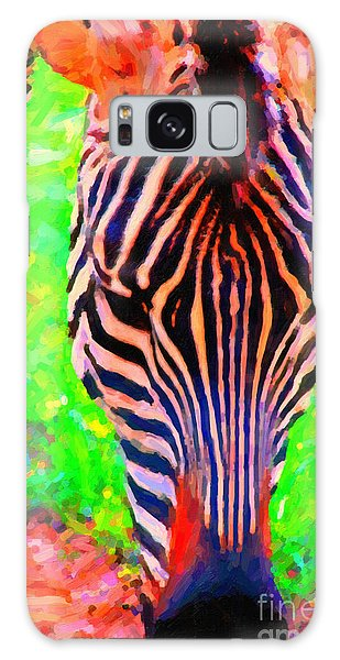 Zebra . Photoart Galaxy Case