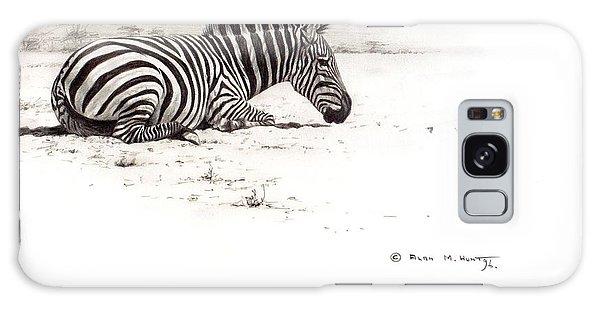 Zebra Sketch Galaxy Case