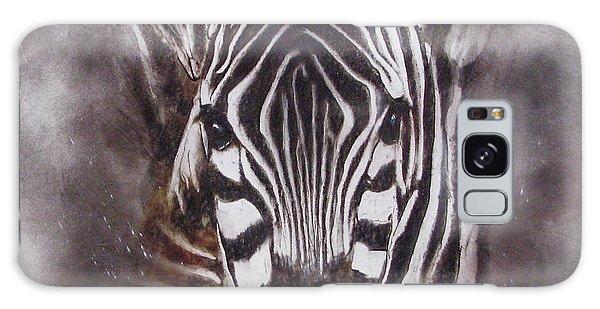 Zebra Splash Galaxy Case