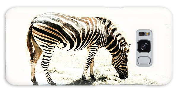 Zebra Stripes Galaxy Case by Stephen Mitchell