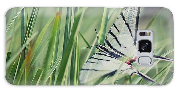 Zebra Swallowtail Galaxy Case