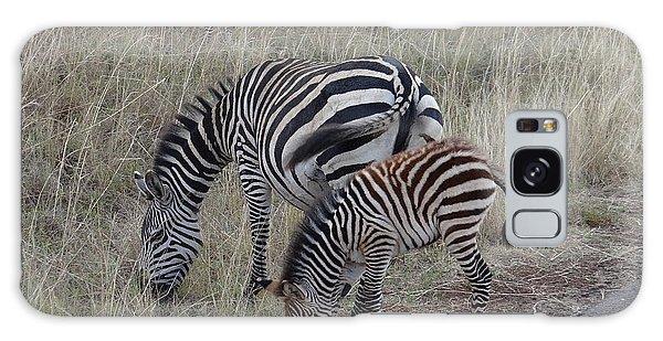 Zebras In Kenya 1 Galaxy Case