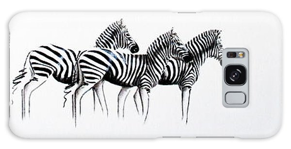 Zebrascape - Original Artwork Galaxy Case