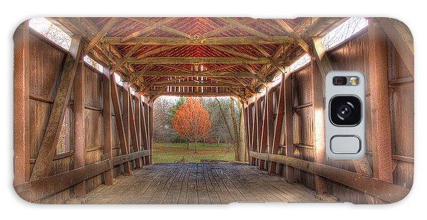 Sycamore Park Covered Bridge Galaxy Case