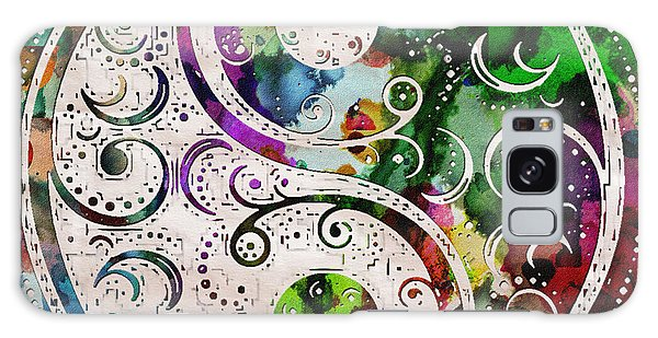 Zen Bliss Large Poster Print Galaxy Case