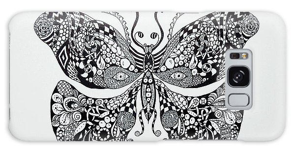 Zen Butterfly Galaxy Case