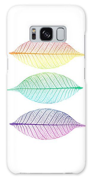 Leaf Galaxy Case - Zen Leaves by Delphimages Photo Creations