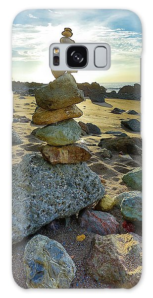 Zen Rock Balance Galaxy Case