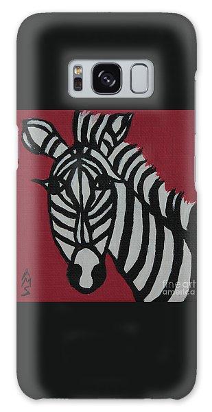 Zena Zebra Galaxy Case