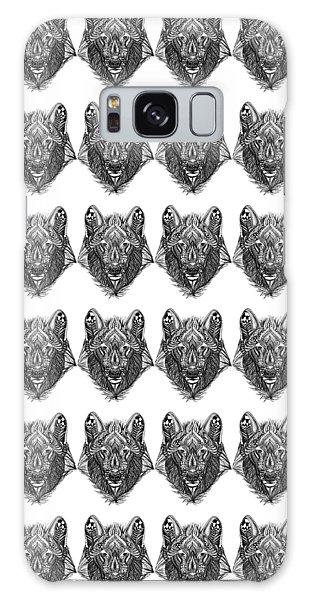 Zendoodle Wolf Galaxy Case
