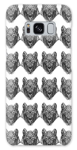 Zendoodle Wolf Galaxy Case