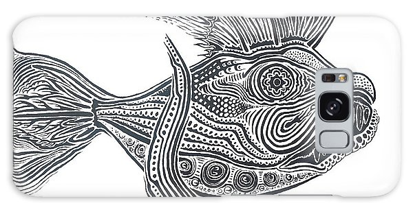 Zentangle Fish Galaxy Case