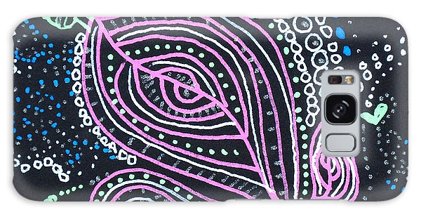 Zentangle Flower Galaxy Case