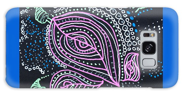 Zentangle Flower Galaxy Case