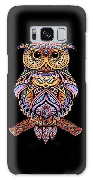 Zentangle Owl Galaxy Case