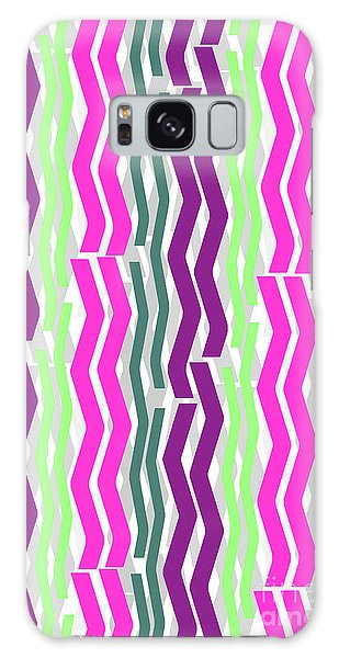 Zig Zig Stripes Galaxy Case