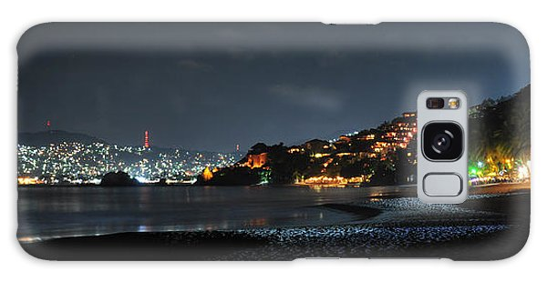 Zihuatanejo, Mexico Galaxy Case by Jim Walls PhotoArtist