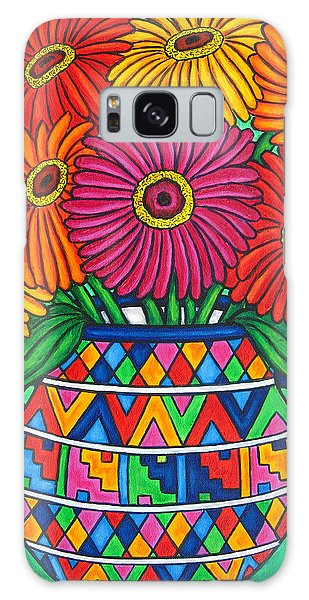Zinnia Fiesta Galaxy Case