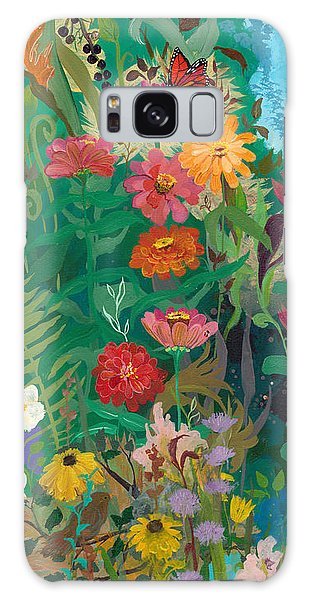 Zinnias Garden Galaxy Case
