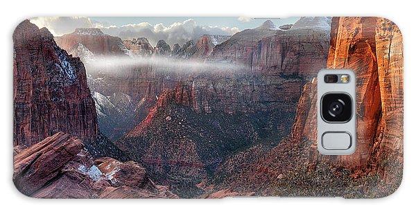 Zion Canyon Grandeur Galaxy Case
