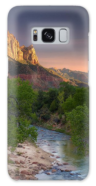Zion Canyon Sunset Galaxy Case