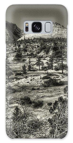 Zion National Park Along Rt 9 Galaxy Case