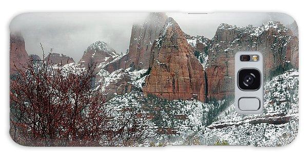 Zion Winter Skyline Galaxy Case