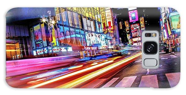 New York City Taxi Galaxy Case - Zip by Az Jackson