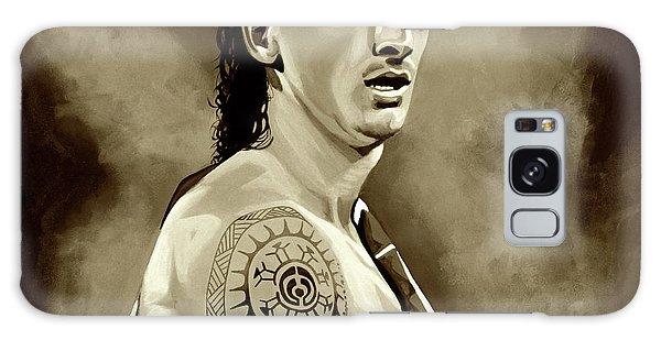 Sweden Galaxy Case - Zlatan Ibrahimovic Sepia by Paul Meijering