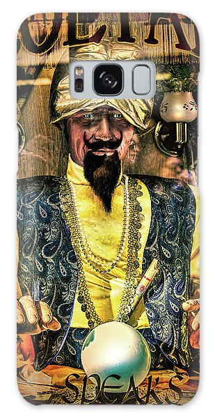 Galaxy Case featuring the photograph Zoltar by Chris Lord