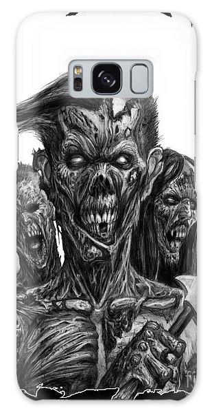 Zombies  Galaxy Case by Tony Koehl