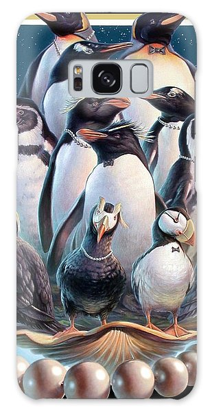 Zoofari Poster 2004 The Penguins Galaxy Case