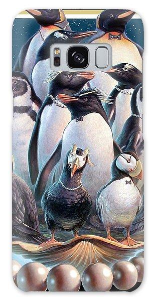 Zoofari Poster 2004 The Penguins Galaxy Case by Hans Droog