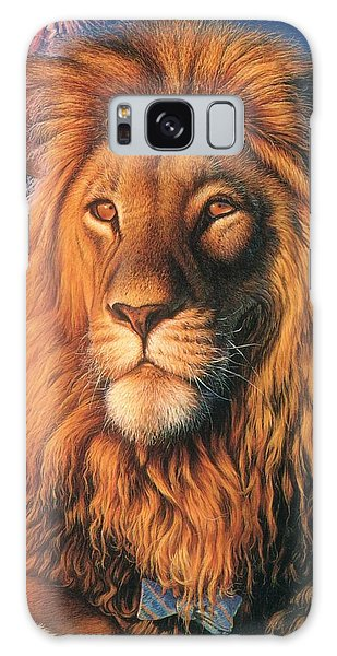 Zoofari Poster The Lion Galaxy Case