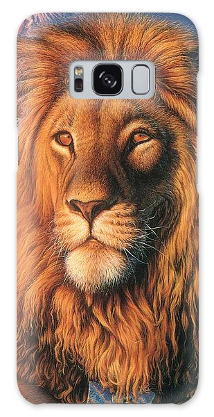 Zoofari Poster The Lion Galaxy Case