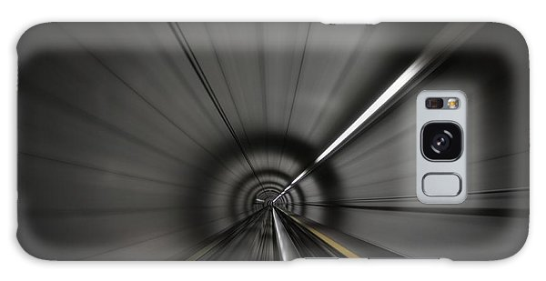 Zooming Along In The Tunnel Of Hope Galaxy Case